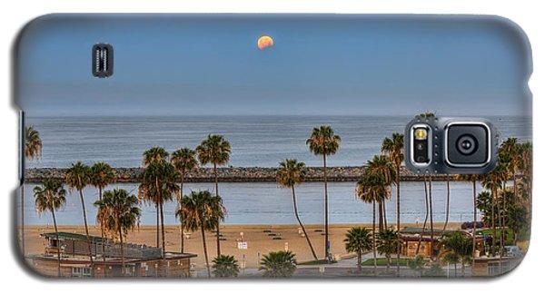 Lunar Eclipse Moonset Galaxy S5 Case