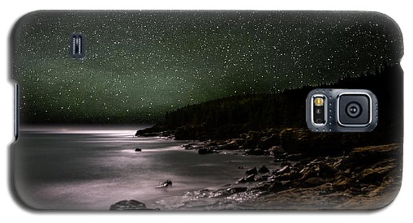 Lunar Eclipse Over Great Head Galaxy S5 Case