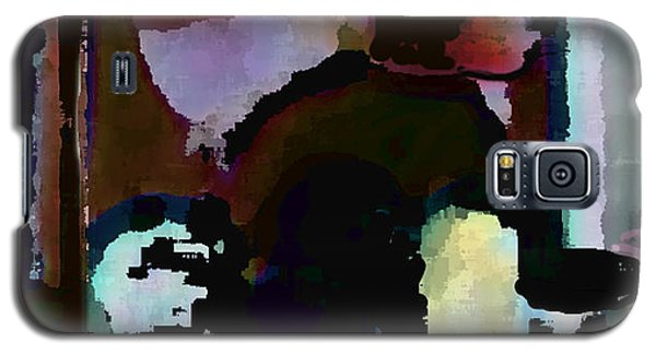 Galaxy S5 Case featuring the painting Lunch Counter by Steve Karol
