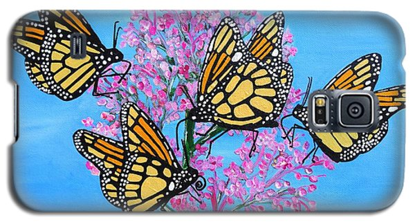 Butterfly Feeding Frenzy Galaxy S5 Case