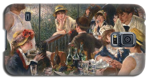Luncheon Of The Boating Party By Renoir Galaxy S5 Case