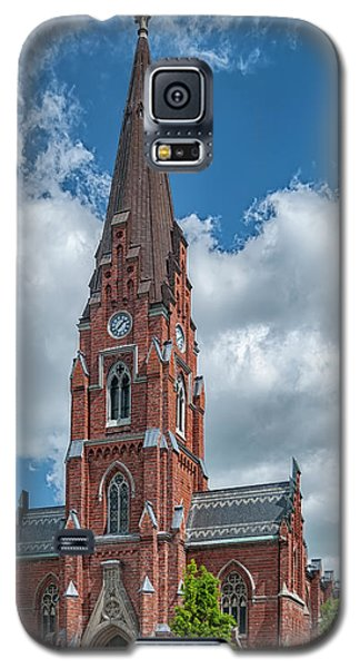 Galaxy S5 Case featuring the photograph Lund All Saints Church by Antony McAulay