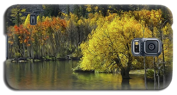 Lundy Lake Beauty Galaxy S5 Case