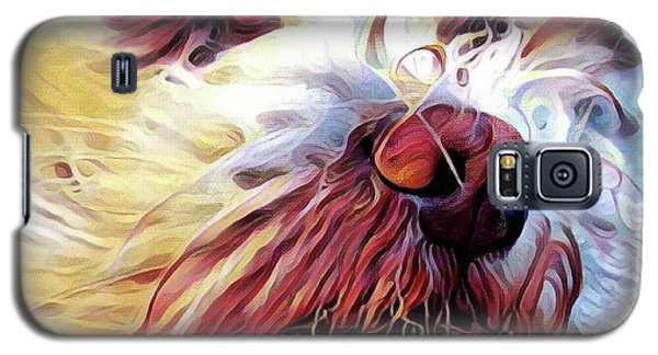 Galaxy S5 Case featuring the digital art Lupi by Judy Morris