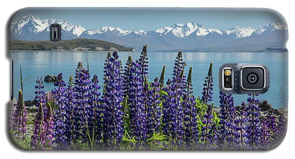 Lupines At Lake Tekapo Galaxy S5 Case