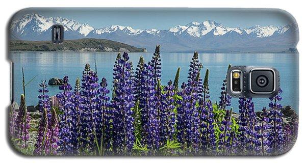 Lupines At Lake Tekapo Galaxy S5 Case