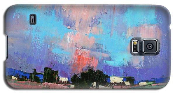 Lupines Color Galaxy S5 Case by Anastasija Kraineva