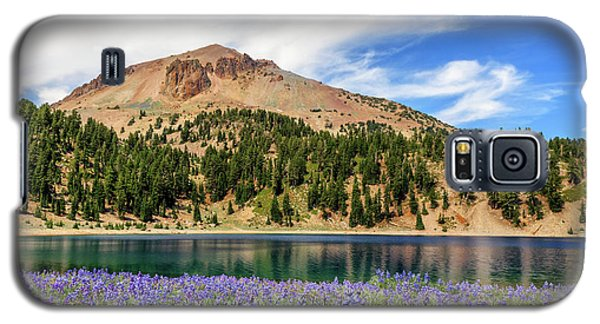 Lupines Lake And Lassen Galaxy S5 Case