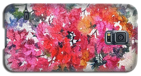 Luscious Bougainvillea Galaxy S5 Case