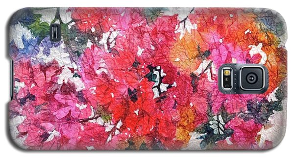 Luscious Bougainvillea Galaxy S5 Case