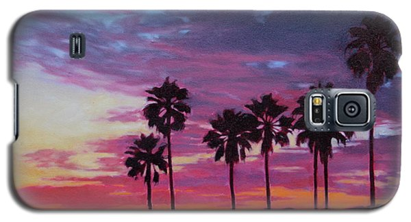 Galaxy S5 Case featuring the painting Lush by Andrew Danielsen