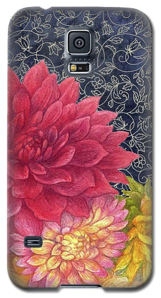 Lush Fall Botanical Galaxy S5 Case