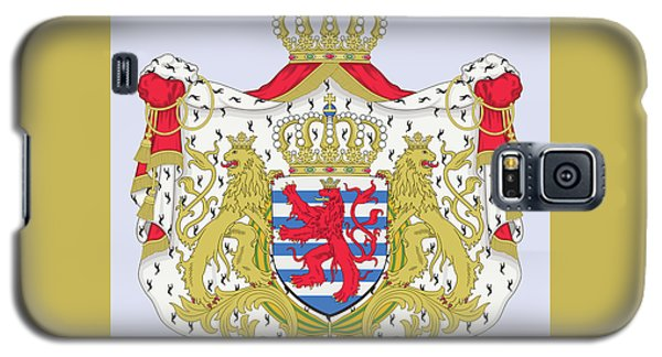 Luxembourg Coat Of Arms Galaxy S5 Case by Movie Poster Prints