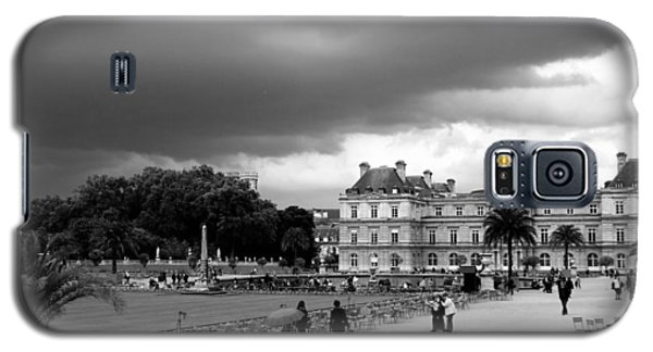 Luxembourg Gardens 2bw Galaxy S5 Case