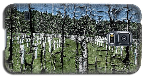Luxembourg Wwii Memorial Cemetery Galaxy S5 Case by Joseph Hendrix