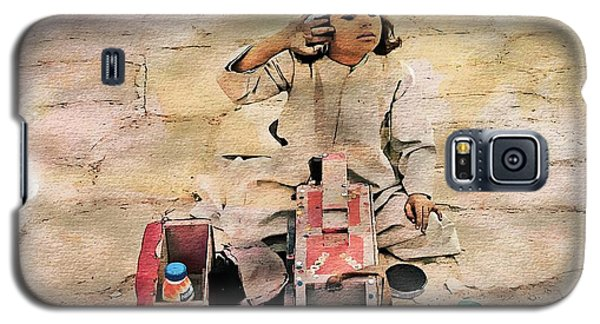 Luxor Shoeshine Girl Galaxy S5 Case