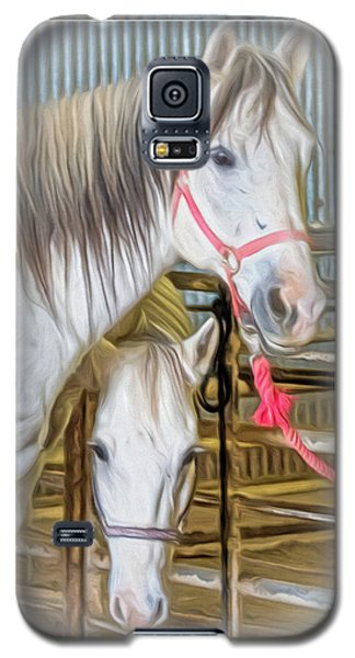 Lvha_ Digital Art Painting #1 Galaxy S5 Case