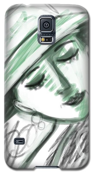 Galaxy S5 Case featuring the digital art Lydia by Elaine Lanoue