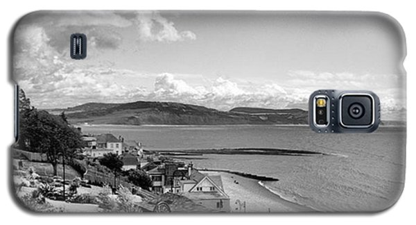 Sky Galaxy S5 Case - Lyme Regis And Lyme Bay, Dorset by John Edwards