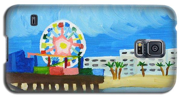 Lyndas Ferris Wheel Galaxy S5 Case by Anthony Larocca
