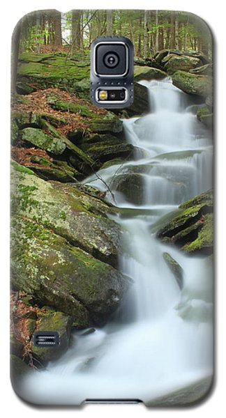 Lynnes Falls New England National Scenic Trai Galaxy S5 Case by John Burk