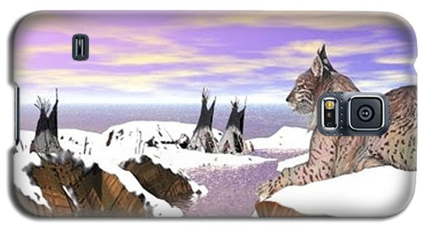 Lynx Watcher Render Galaxy S5 Case