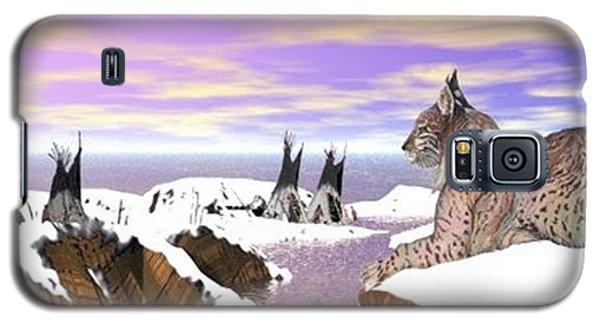 Lynx Watcher Render Galaxy S5 Case