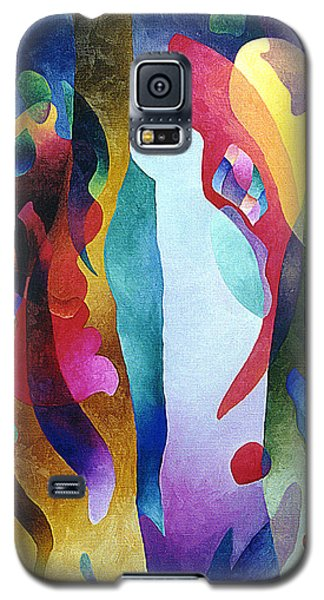Lyrical Grouping Galaxy S5 Case by Sally Trace