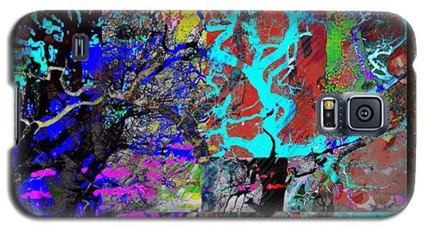 Lyrical Tree #3 Galaxy S5 Case by Diana Riukas