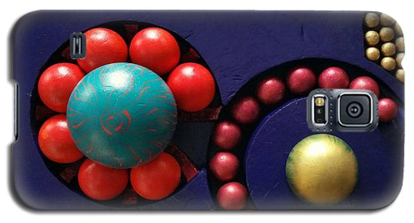 Galaxy S5 Case featuring the painting M O D A  Garden by James Lanigan Thompson MFA
