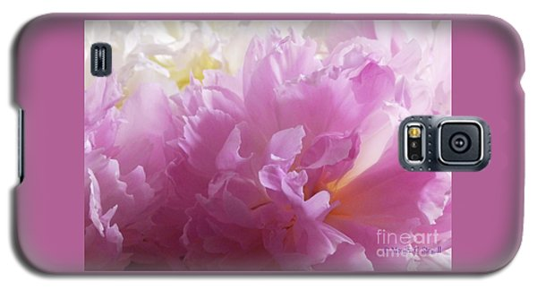 M Shades Of Pink Flowers Collection No. P72 Galaxy S5 Case