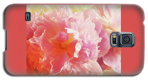 M Shades Of Pink Flowers Collection No. P74 Galaxy S5 Case