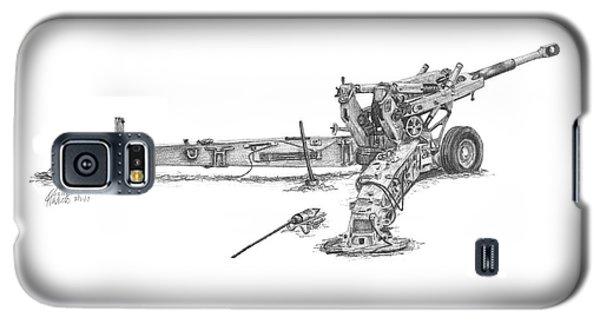 M198 Howitzer - Standard Size Prints Galaxy S5 Case