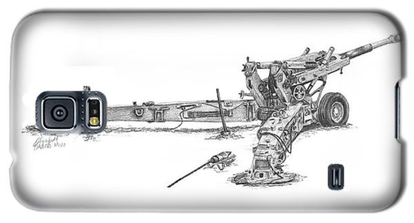 M198 Howitzer - Standard Size Prints Galaxy S5 Case