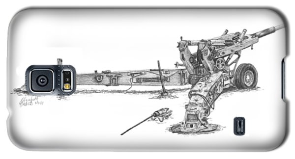 M198 Howitzer - Natural Sized Prints Galaxy S5 Case