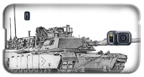 M1a1 B Company Xo Tank Galaxy S5 Case