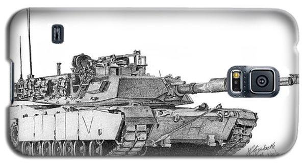 M1a1 C Company Commander Tank Galaxy S5 Case