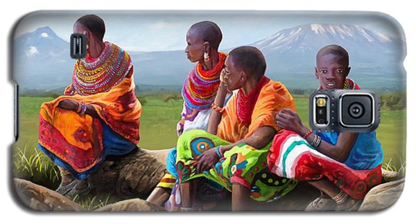 Maasai Women Galaxy S5 Case