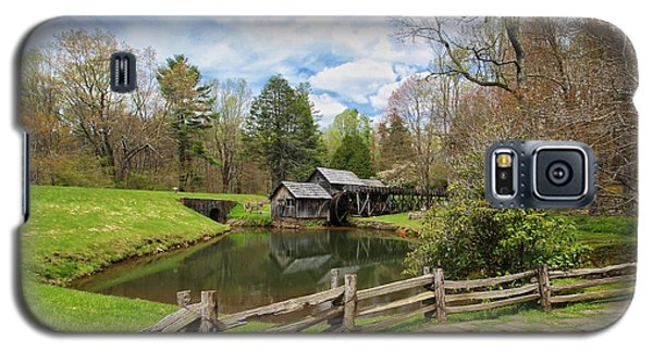 Mabry Mill In The Spring Galaxy S5 Case