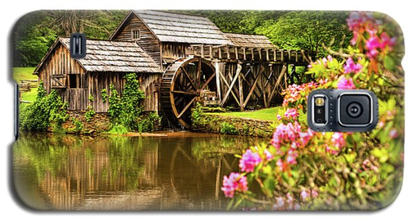 Galaxy S5 Case featuring the photograph Mabry Mill by Rebecca Hiatt