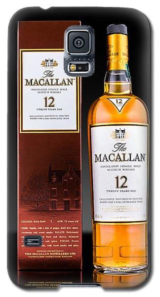Macallan Single Malt Whisky Galaxy S5 Case by Mihai Andritoiu