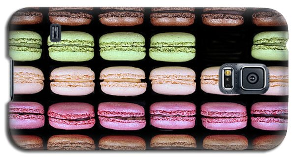 Galaxy S5 Case featuring the photograph Macarons - One Missing by Nikolyn McDonald