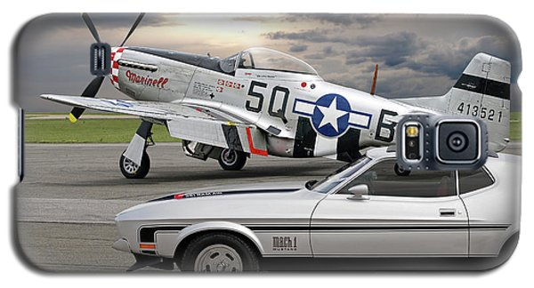 Mach 1 Mustang With P51  Galaxy S5 Case