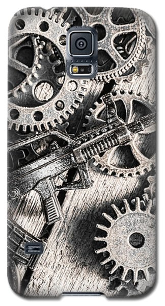 Machines Of Military Precision  Galaxy S5 Case by Jorgo Photography - Wall Art Gallery