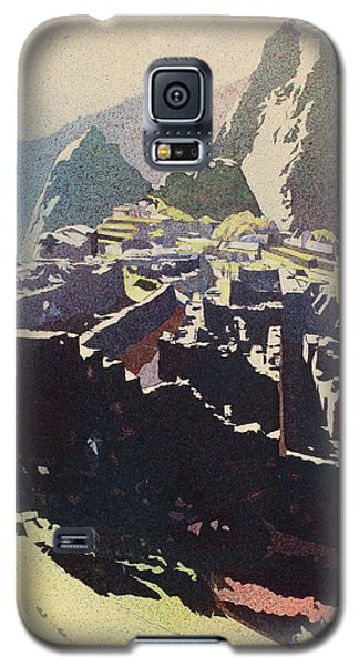 Machu Picchu Morning Galaxy S5 Case