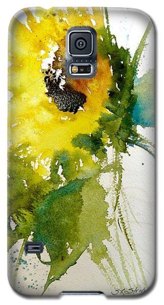 Maci's Sunflower Galaxy S5 Case by Sandra Strohschein