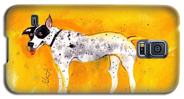 Mack The Pit/dalmatian Galaxy S5 Case by Gertrude Palmer