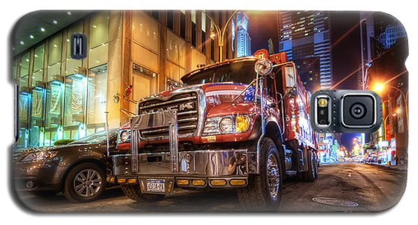Mack Truck Nyc Galaxy S5 Case
