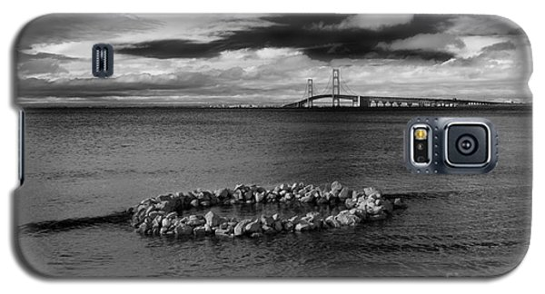 Mackinac Bridge - Infrared 03 Galaxy S5 Case