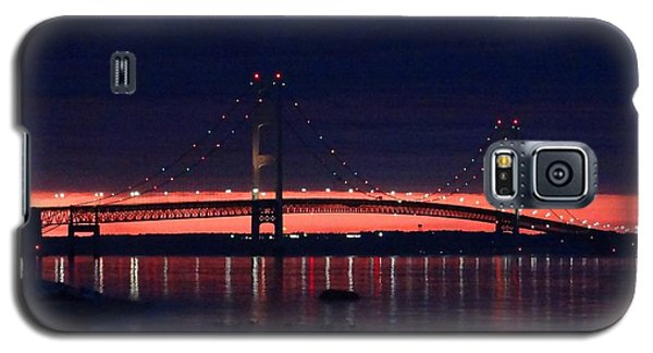 Mackinac Bridge On A June Evening Galaxy S5 Case